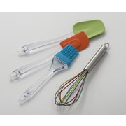 Cooks on Fire 4 Piece Silicone Utensil Set
