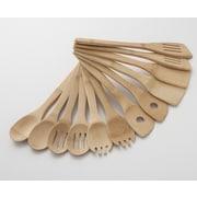 Cooks on Fire 12 Piece Bamboo Utensil Set