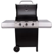 CharBroil Thermos 3-Burner Propane Gas Grill w/ Side Shelves