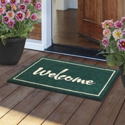 Fab Habitat Painted Welcome Door Mat