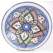 Le Souk Ceramique Tibarine Stoneware Decorative Bowl; Large