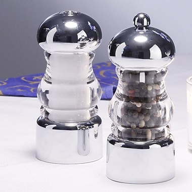 Chef Specialties Lori Pepper Mill and Salt Shaker Set