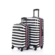 "Rosetti 2-Piece 26"" Expandable Luggage Set, Print"