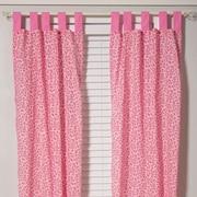 Pam Grace Creations Tabby Cheetah Window Curtain Panels (Set of 2)