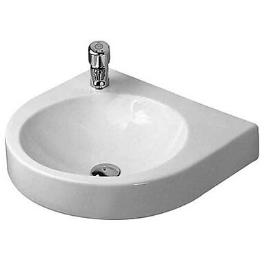 Duravit Architec Ceramic 23'' Wall Mount Bathroom Sink