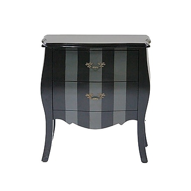 Heather Ann Classic 2 Drawer Bombay Chest