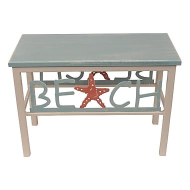 Coast Lamp Mfg. Cottage Entryway Bench