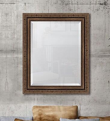 Melissa Van Hise Antique Bronze Wall Mirror;