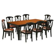 Darby Home Co Beesley 9 Piece Hardwood Dining Set; Cherry
