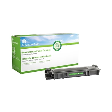 Staples® Sustainable Earth® - Cartouche de toner laser remise à neuf TN630 compatible Brother, noir, haut rendement (SEBTN630R)