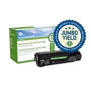 Staples® Sustainable Earth® HP 78A Reman Laser Toner Cartridge, Black, Extended Yield (CE278A(J))