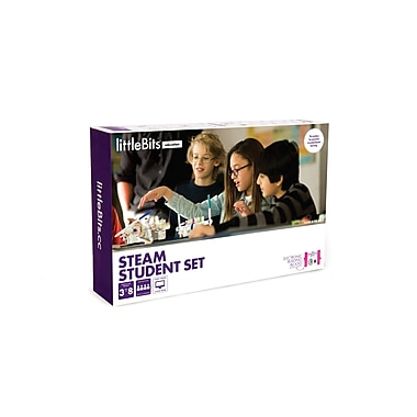 littleBits STEAM Education Class Packs, Up to 32 Students (670-0057-0000A)