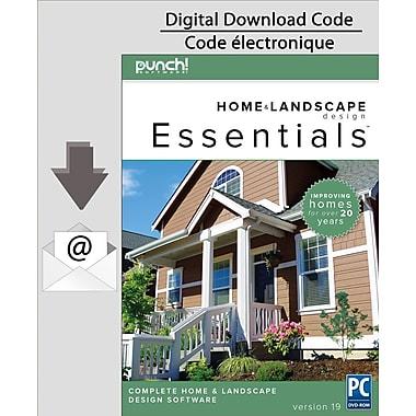 Punch! Home & Landscape Design Essentials v19 pour ordinateur [Téléchargement]