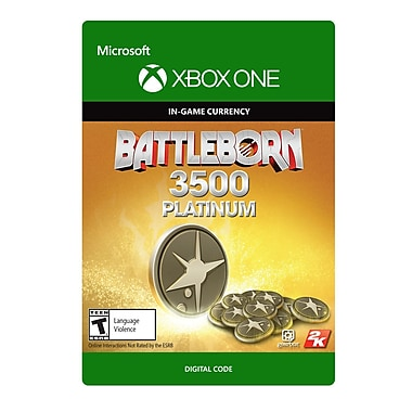 Xbox One Battleborn : Pack 3500 Platinum [Téléchargement]