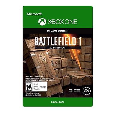 Xbox One – Battlefield 1 : Battlepack X 20 [Téléchargement]