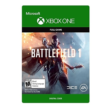 XBox One Battlefield 1: Standard Edition [Download]