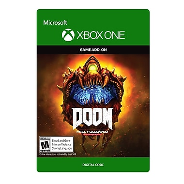 XBox One – Doom 4 : Hell Followed (DLC 2) [Téléchargement]