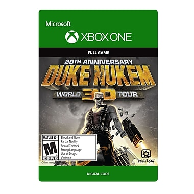 XBox One Duke Nukem 3D : 20th Anniversary World Tour [Téléchargement]