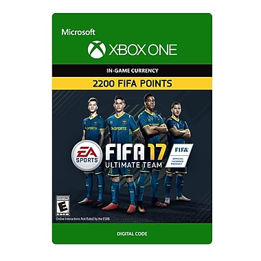 Xbox One – FIFA 17 Ultimate Team FIFA 2200 Points [Téléchargement]