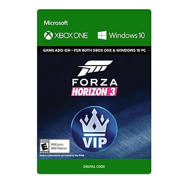 XBox One Forza Horizon 3 VIP [Download]