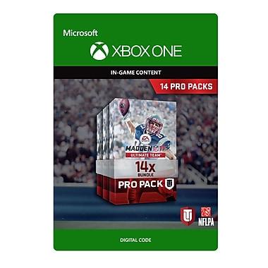 Xbox One – Madden NFL 17 : Ensemble 14 Pro Pack [Téléchargement]