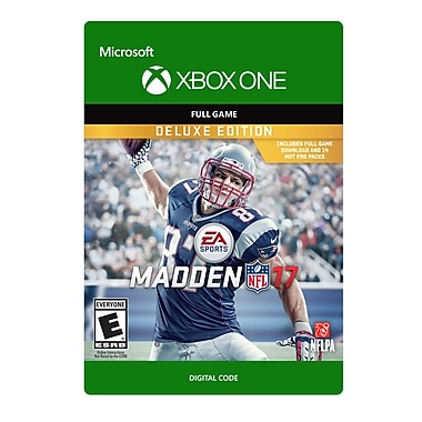 XBox One Madden NFL 17: Deluxe Edition [Download]