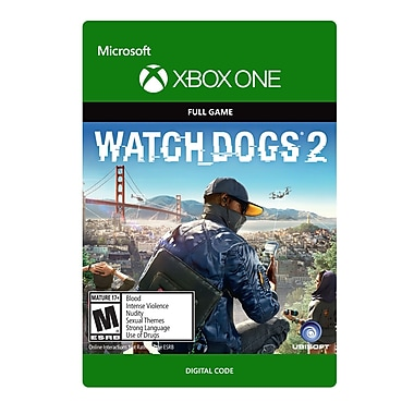 XBox One – Watch Dogs 2 [Téléchargement]