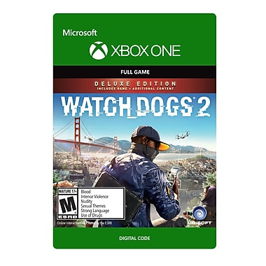 XBox One – Watch Dogs 2 Deluxe [Téléchargement]