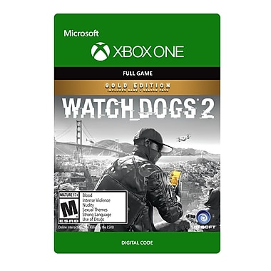 XBox One – Watch Dogs 2 Gold [Téléchargement]