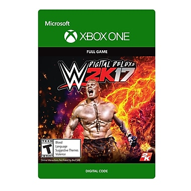 XBox One WWE 2K17: Digital Deluxe Edition [Download]