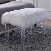 ACME Furniture Bagley Upholstered Bedroom Bench