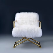 ACME Furniture Bagley X Base Arm Chair