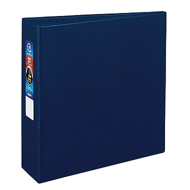 Avery Heavy Duty Binder with One Touch EZD™ Ring, Navy Blue, 670-Sheet Capacity, 3