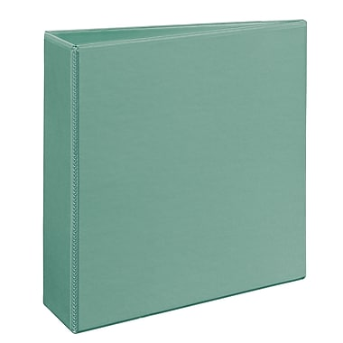 Avery Heavy-Duty EZD 3-Inch 3-Ring View Binder, Sea Green (79346)