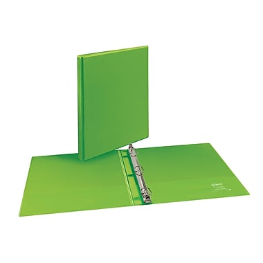 Avery Durable 1/2-Inch D 3-Ring View Binder, Bright-Green (34157)
