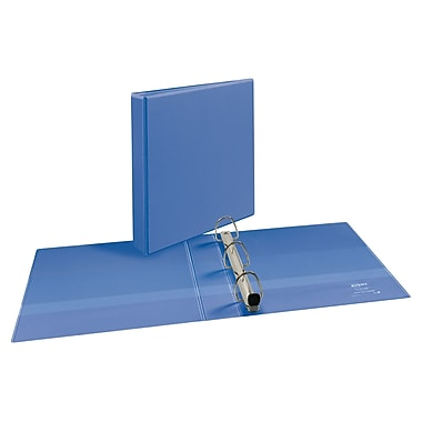Avery Heavy-Duty One Touch EZD 1.5-Inch 3-Ring Binder, Periwinkle (17553)