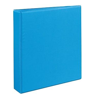 Avery Heavy-Duty 1.5-Inch Slant D 3-Ring View Binder, Light Blue (5401)