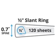 "1/2"" Avery® Heavy-Duty View Binder with Slant-D™ Rings, Black"