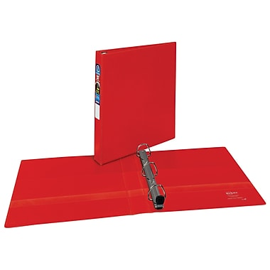 Avery® Heavy Duty Non-View Binder with Locking One Touch EZD™ Rings, 11 x 8 1/2, Non-View, Each (79589)