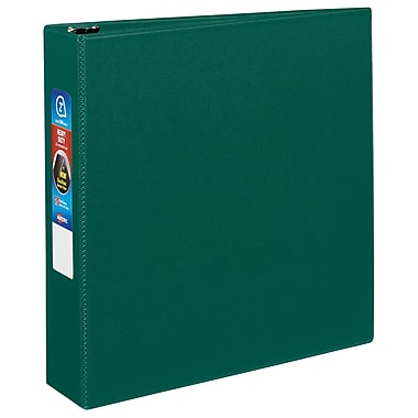 Avery Heavy-Duty 2-Inch EZD 3-Ring Non-View Binder, Green (79-782)