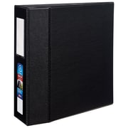 Avery Heavy-Duty 4-Inch EZD 3-Ring Non-View Binder, Black (79994)