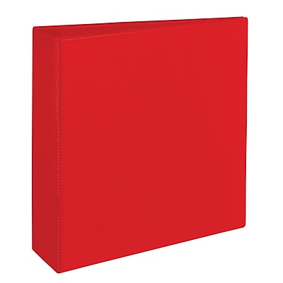 Avery® Heavy Duty Non-View Binder with Locking One Touch EZD™ Rings, 11 x 8 1/2, Non-View, Each (79583)
