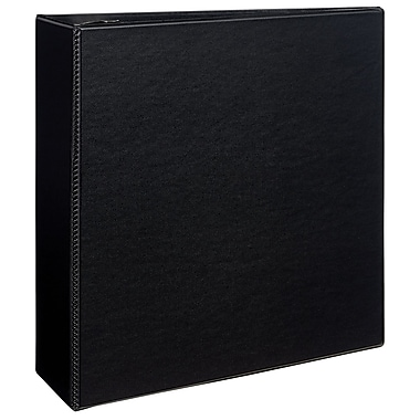 Avery Durable 4-Inch D 3-Ring Binder, Black (7801)