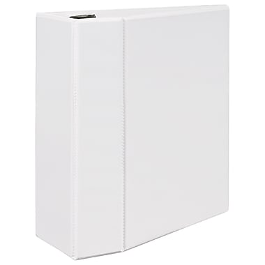 Avery Durable 5-Inch EZD 3-Ring View Binder, White (9901)