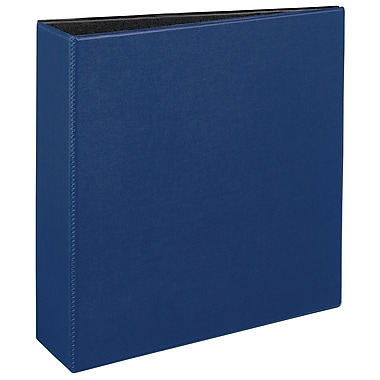 Avery Durable 3-Inch Slant D 3-Ring Binder, Blue (27651)