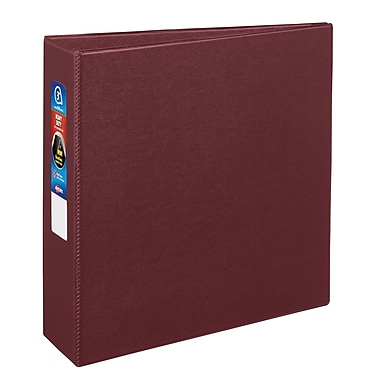 Avery Heavy-Duty One Touch 3-Inch EZD 3-Ring Binder, Maroon (79-363)