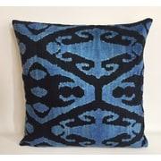 Tasdemir Rugs Velvet Throw Pillow