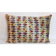 Tasdemir Rugs Leaf Velvet Lumbar Pillow