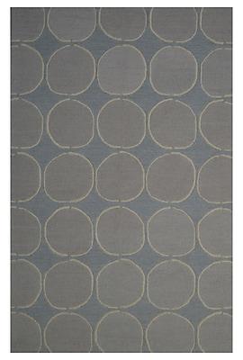 Eastern Weavers Wool Hand-Tufted Blue/Beige Area Rug; 5' x 8'