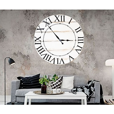 BrandtWorksLLC Tradition Wall Clock; 36'' H x 36'' W x 2'' D
